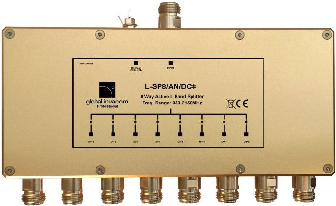 L Band 8 Way Active Splitter